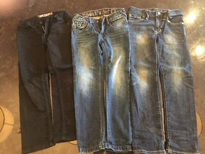 Size 5 Boys Jeans, Mossimo, Gap And Tumble N Dry