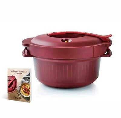 Tupperware Micro Pressure Cooker Brand New With Cook Book RRP $235