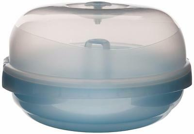 Compact and Effective Nuby Natural Touch Microwave Steam Sterilzer New!