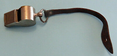 Australian Wwii Military Whistle Premier Wire Works Melbourne With Strap 1941