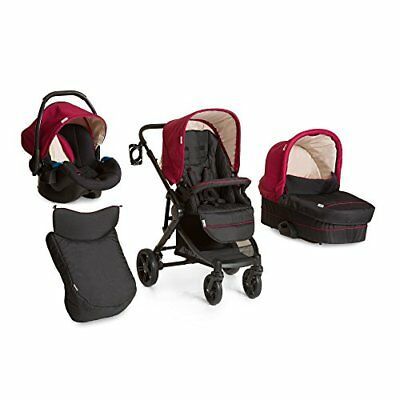 Hauck Atlantic Plus Trio Set - Sistema de viaje, color tango