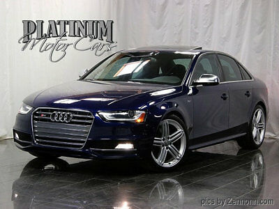2014 Audi S4 4dr Sedan S Tronic Premium Plus 1 Owner - Clean Carfax - Factory Warranty - Side Assist - Navigation - B&O