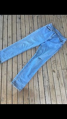 "Original Vintage Levi "" Mum"" Jeans.Size 34 In Length and 34 Waist"