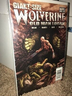 Old Man Logan Wolverine Giant Size #1 Ultimate Edition Mark Millar Marvel