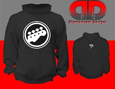 Bass Player's Custom Heavy Weight Hoodie