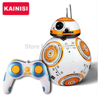 Star Wars RC 2.4G BB-8 Robot Remote Control With Sound Toy-FREE Adaptor