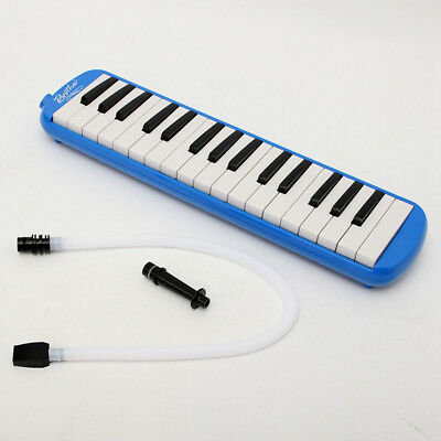 Student Instructor 32 Key Melodica Piano Style Harmonica Kids Gift Beginner Blue