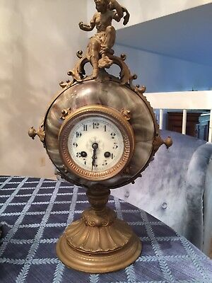 antique french mantel clock, Farcot?