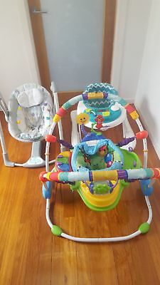 baby walker bouncer and swing