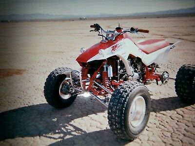 Honda 250r trx trx250r Laeger upper and lower chrome a arms with tie rods
