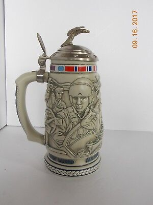 Beer Stein by Avon, Tribue to the American Armed Forces Stein