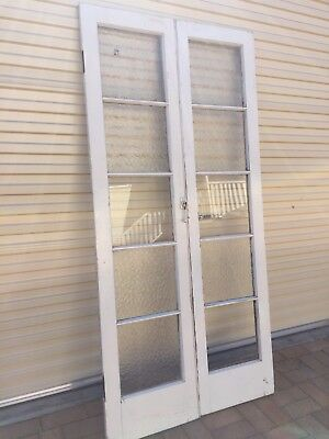 Antique French Doors Vintage Solid Timber And Glass Entry Queenslander