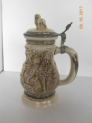 Beer Stein by Avon, Great Dogs of the Outdoors Stein