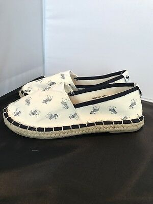 New Abercrombie & Fitch Girls Slip On Canvas Shoes Back To School Size 2
