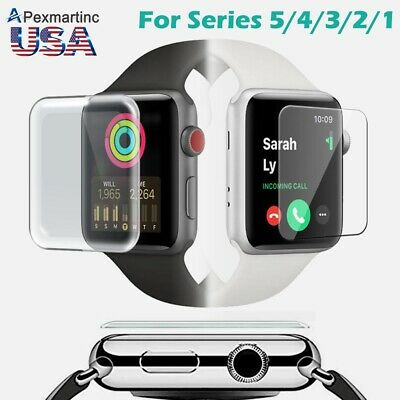Apple Watch Series 3/ 4 Premium Tempered Glass Screen Protector iWatch 40mm 44mm