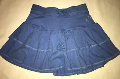 The Children's Place Girl's Blue Skort Shorts Attached Size 6X/7 Jersey Material