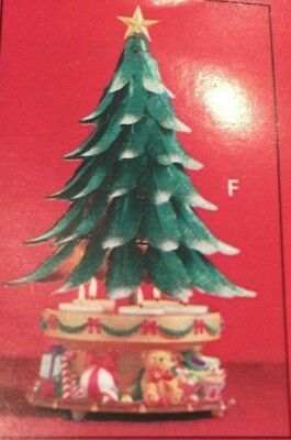 Partylite - Glowing Tree P7920 - Retired - Wind-up musical - Christmas Tree
