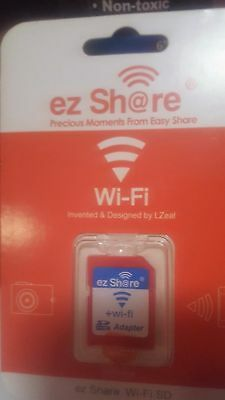 Ez Share Wifi Sd Memory Card Adapter available for DC / DV / DSLR / DPF etc...