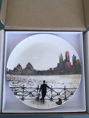 Royal Doulton plate with Nick Walker 'Morning After Sydney' artwork
