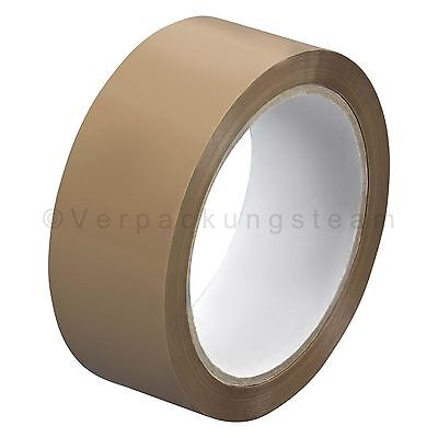 ( eur. 0,01 / m-eur 0,02/M) Tape Packing opp909nn 38 mm x 66m Low Noise Brown