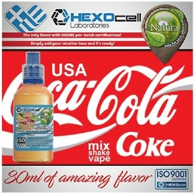 Liquid - Juice Natura - USA COLA  100ml Nicotin 18 mg made in EU