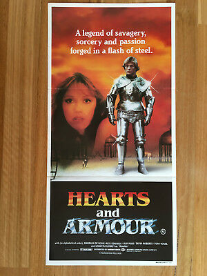 Hearts And Armour - Australian Daybill Movie Poster