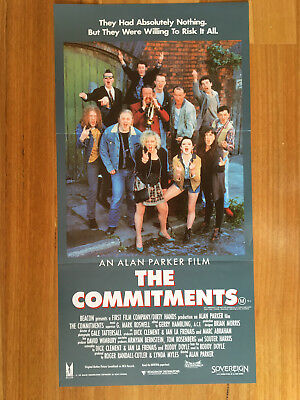 The Commitments - Australian Daybill Movie Poster