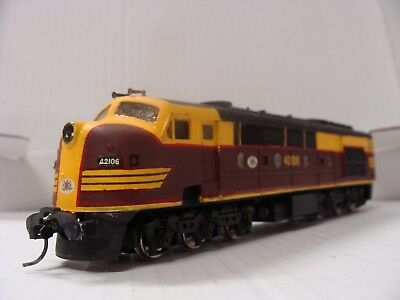 Nswgr 421 Class Hand Built Kit, Built Model, Runs Very Well Good Condition, Ho