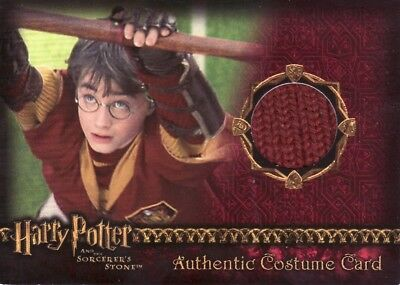 Harry Potter Sorcerers Sorcerer's Stone Harry Potter Quidditch Robe Costume Card