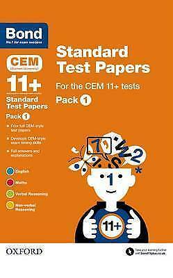 Bond 11+: CEM: Standard Test Papers: Pack 1 NEW RRP £9.99