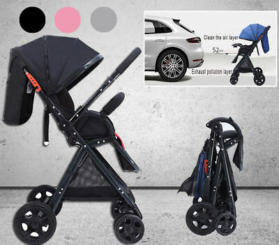 Foldable Baby Stroller Pram Mini Travel Carry on Flight Luggage Travel Carry-on