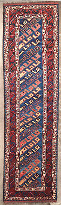 Tapis ancien antique rug Tribal Perse 1900