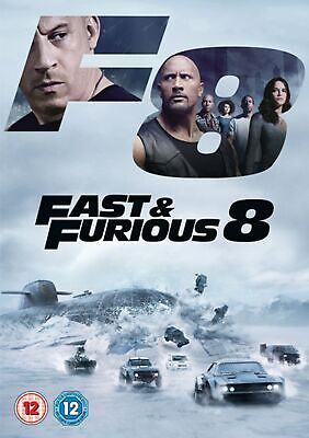 Fast & Furious 8 (with Digital Download) [DVD]