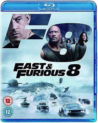 Fast & Furious 8 (with Digital Download) [Blu-ray]