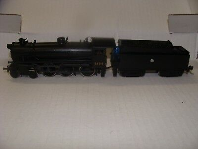 Nswgr C36 Round Top Boiler Steam Locomotive Bergs Brass Models Black 3609 Ho