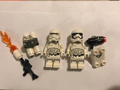 Lego Star Wars 2 Minifigs First Order Brand NEW Rare Set City mini figures