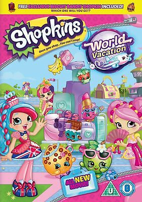 Shopkins: World Vacation (Includes Free Biscuit Bandit Shopkin) [DVD]