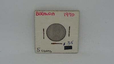 Bermuda 1970 Nickel Angel Fish 817