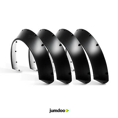 Universal JDM Fender flares CONCAVE over wide body wheel arches ABS 110mm 4pcs