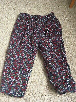 Cord Trousers Girls  Size 18-24 Months