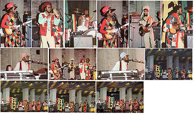13 Steel Pulse colour concert photos Birmingham 1979