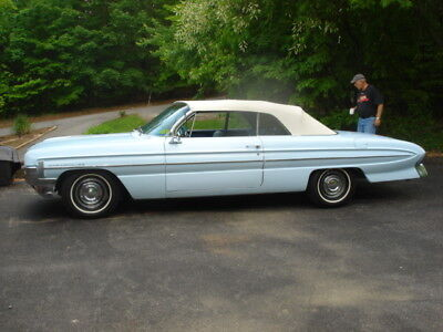 1961 Oldsmobile Eighty-Eight CONVERTIBLE 1961 OLDSMOBILE DYNAMIC 88 CONVERTIBLE