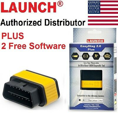 Launch EasyDiag 2.0 PLUS Android IOS Diagnostic Code Reader 2 Free Software