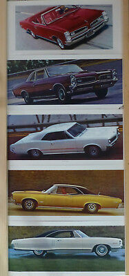 1966 Pontiac Gto, Ohc Sprint And 2 + 2 Factory Promo Posters - Eleven (11) Total