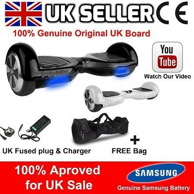 2 Wheel Self Balancing Board Swegway Electric Hoverboard Scooter Ce Approved Uk