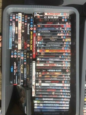 Joblot Boxes of DVDs - Disney,Marvel,Twilight and more