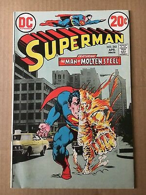 Superman 263 4.5 Neal Adams DC Bronze Age Photo Cover Classic