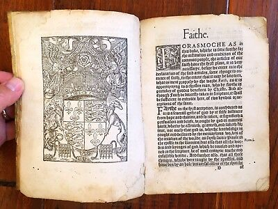 1544 King Henry VIII Testing Clergy for Heresy - This Book Killed Thomas Cranmer