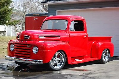 1950 Ford F1  1950 FORD F1 Custom Pickup, 4.6 LITRE, 5-SP,  V8, Vintage A/C, and lot's more