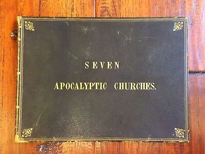 1832 Rare Folio Etchings of Turkey, Asia Minor, SEVEN CHURCHES OF REVELATION